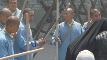 《少林寺传奇2》林志颖与16武术高手狂打李氏江山图片