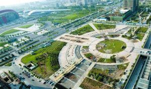 南京造价百万广场使用3年被拆 改建政府办公楼图片