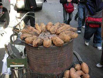 细数烤红薯三大严重毒害图片